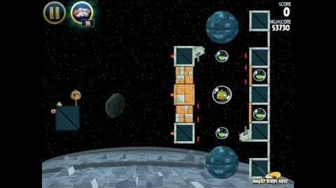 Death Star 2-32 (Angry Birds Star Wars)/Video Walkthrough