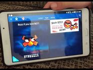 Britain's Got Talent Angry Bird Button Demo - (Early 2016)