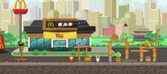 Уровень AB McDonald's