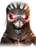 Eddie The Bird Martial Arts Icon