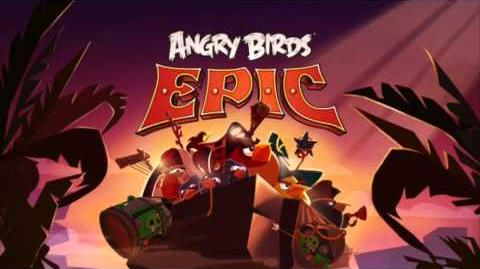 New! Angry Birds Epic Soundtrack Map of Piggy Island