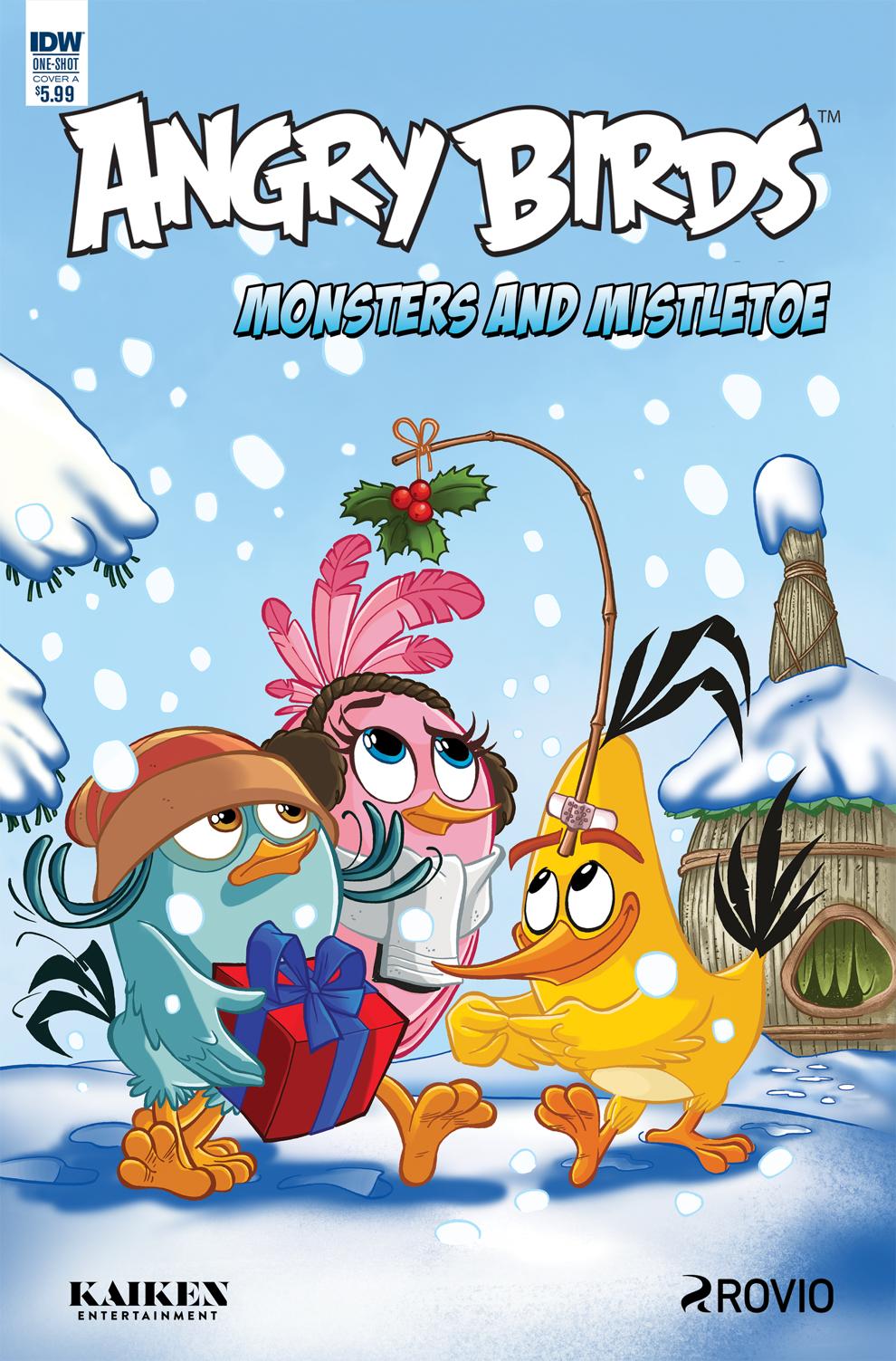 Angry Birds Comics Quarterly, Vol 2