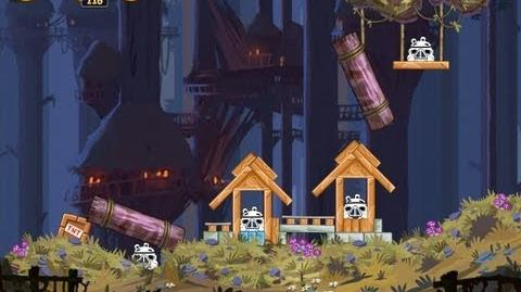 Moon of Endor 5-1 (Angry Birds Star Wars)/Video Walkthrough