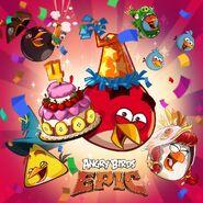 Birthday 4 Epic Poster