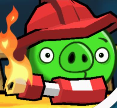 Свиньи-пироманы