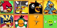Original Angry Birds Friends Player Icons