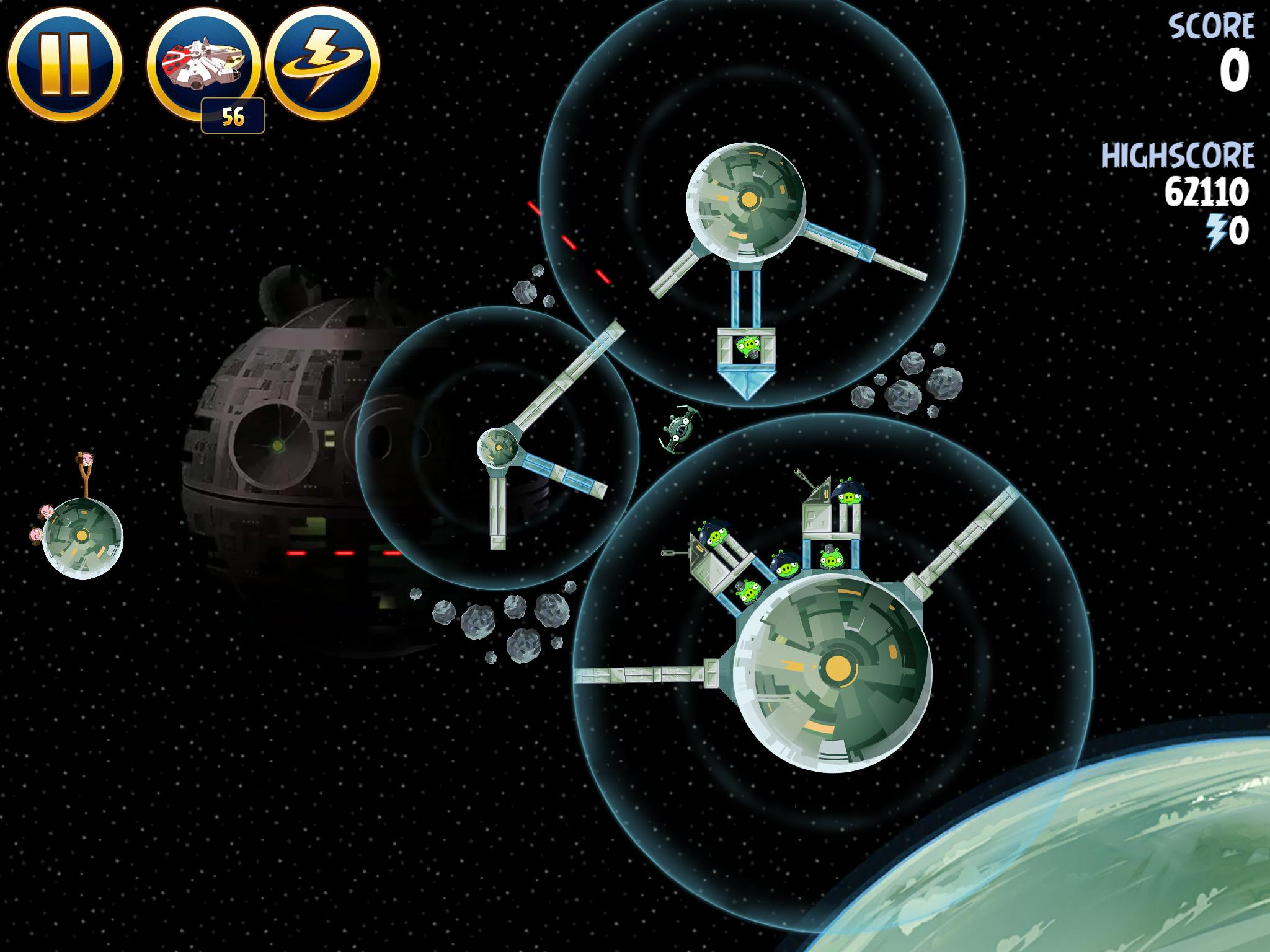 Death Star 2 6-9 (Angry Birds Star Wars)