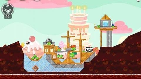 Birdday Party Cake 4-12