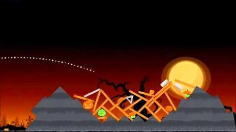 Official Angry Birds Seasons Walkthrough Trick or Treat 2-10