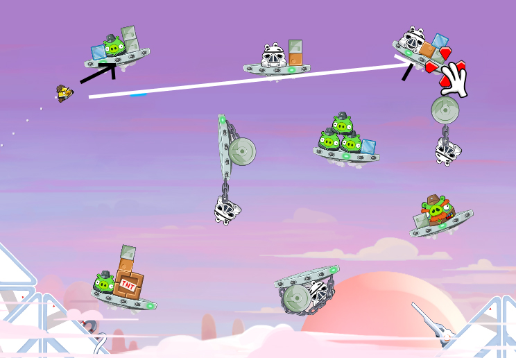 Cloud City 4-11 (Angry Birds Star Wars)