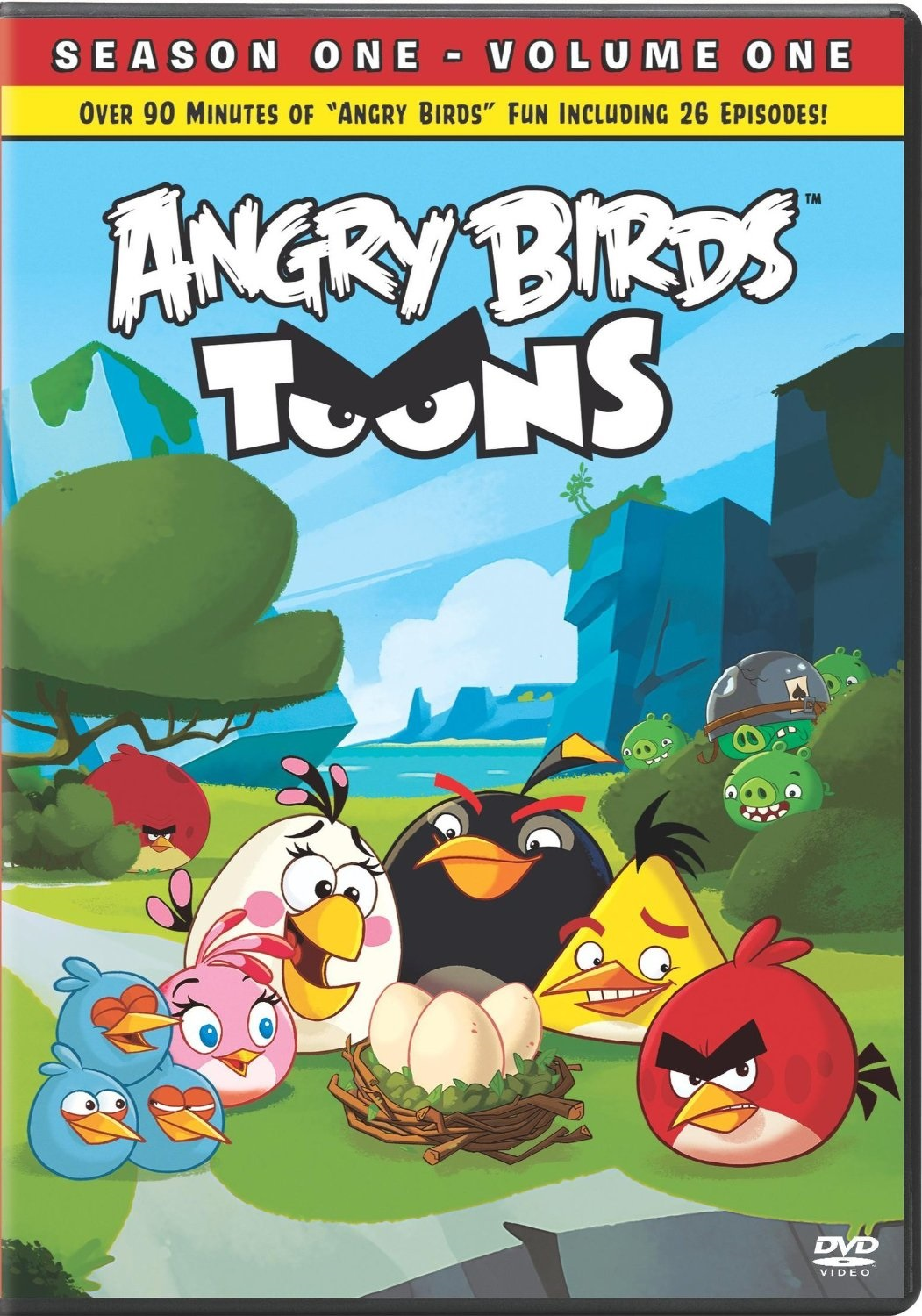 List of Angry Birds DVDs
