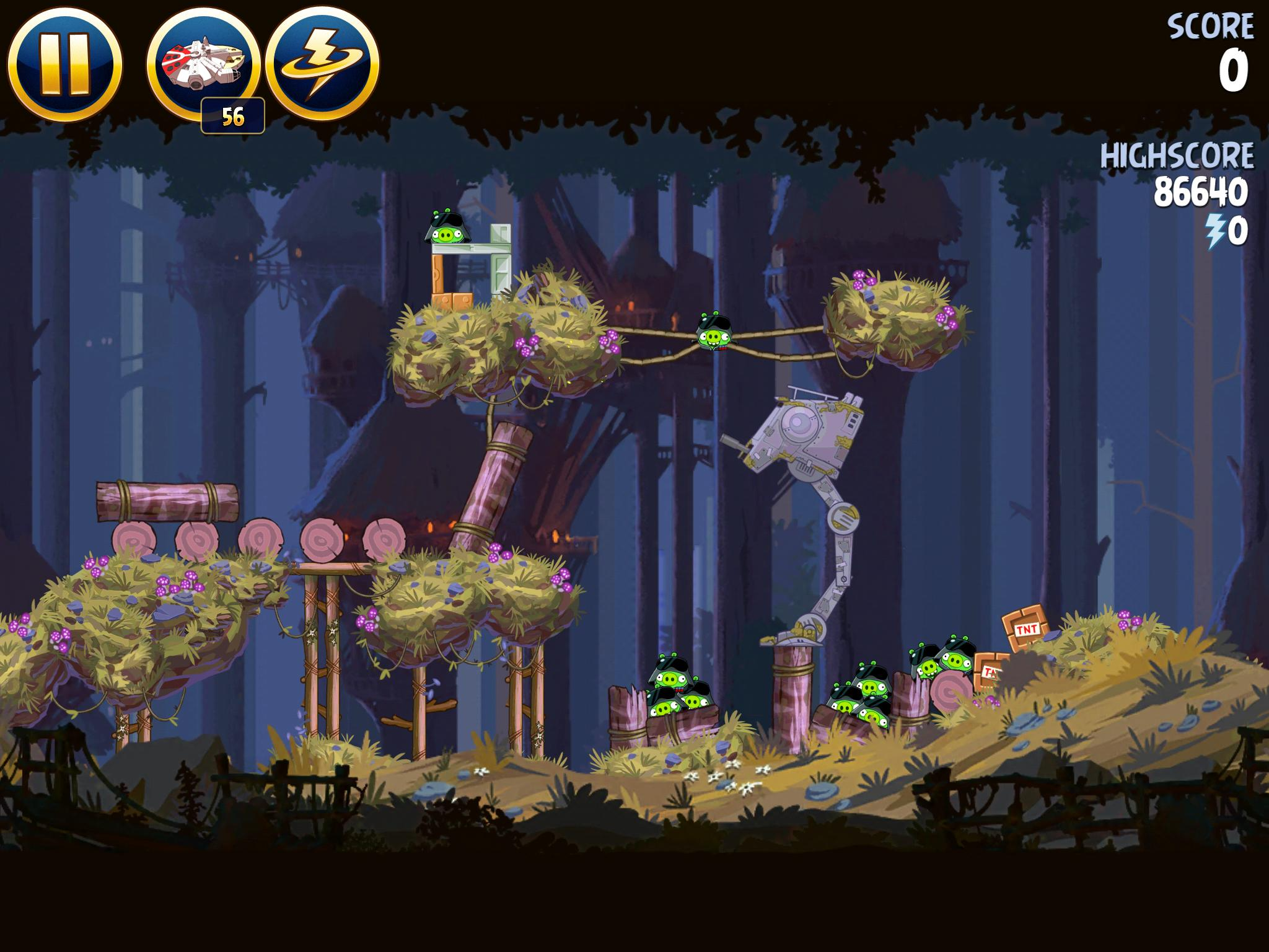 Moon of Endor 5-15 (Angry Birds Star Wars)