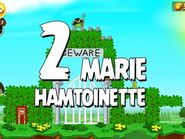 Angry Birds Seasons Marie Hamtoinette 1-2 Walkthrough 3 Star
