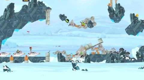Hoth 3-17 (Angry Birds Star Wars)/Video Walkthrough