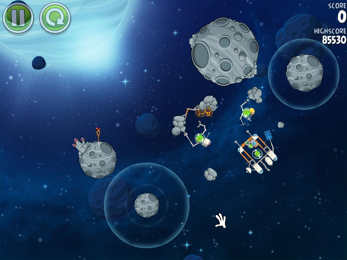 Beak Impact 8-14 (Angry Birds Space)