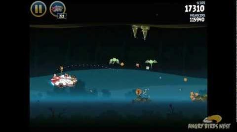 Hoth 3-40 (Angry Birds Star Wars)/Video Walkthrough