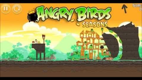 Музыка Angry Birds Go Green, Get Lucky