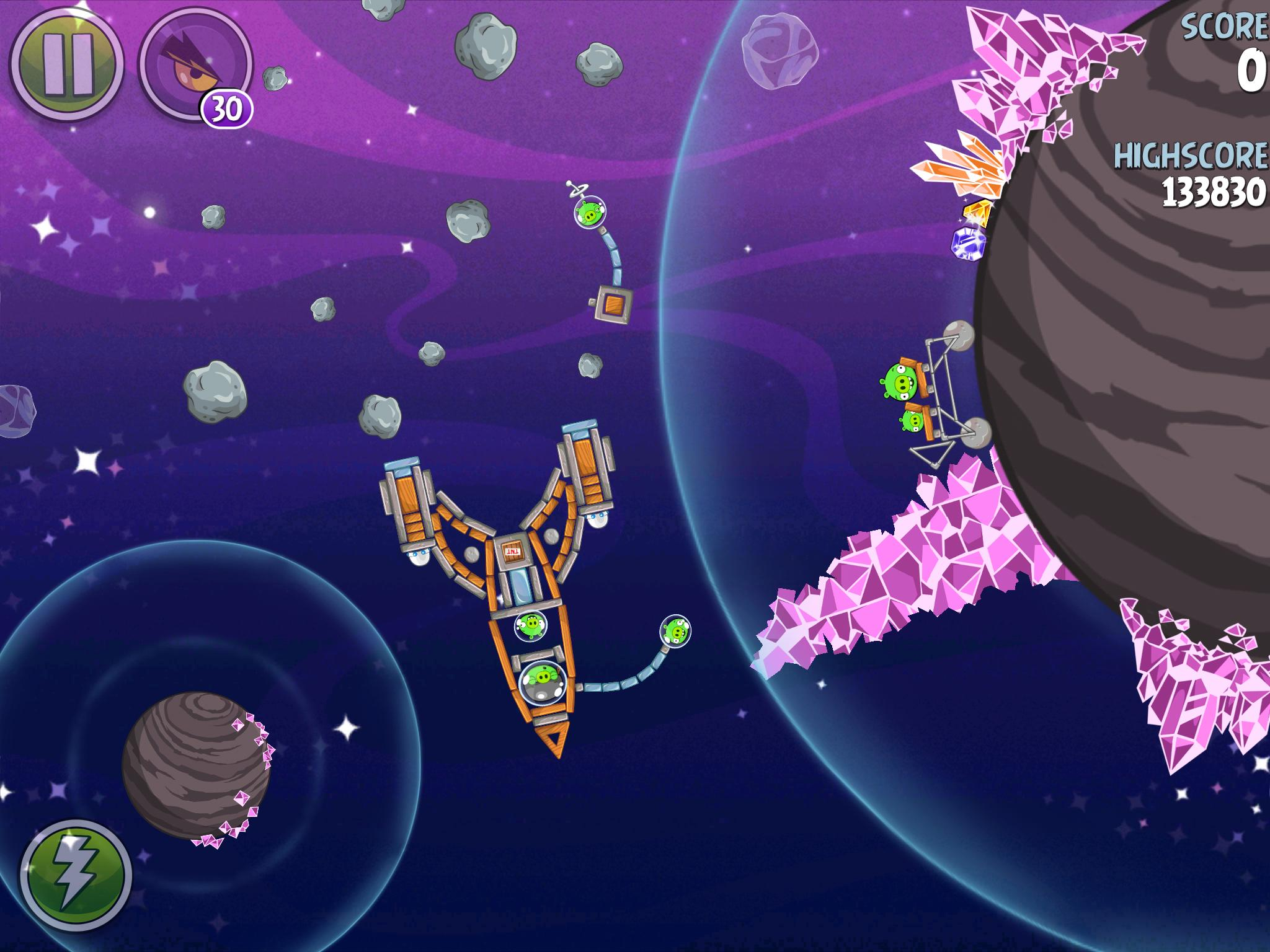 Cosmic Crystals 7-25 (Angry Birds Space)