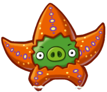 Angry Birds Fight! - Monster Pigs - Seastar Pig.png