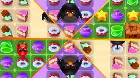 Angry Birds Match - Kaleidoscope -Levels