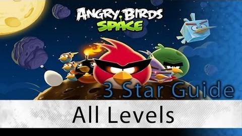 Angry Birds Space - 3 Star Walkthrough All Levels (Pig Bang, Cold Cuts, Danger Zone, Eggstroids)
