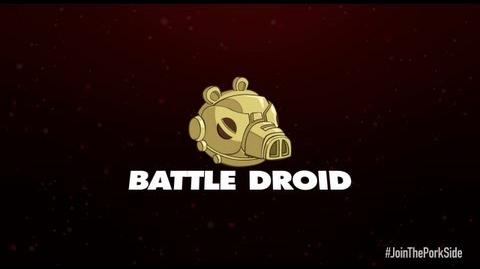 Angry Birds Star Wars 2 character reveals Battle Droid