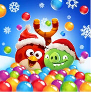 Angry birds POP Christmas Zoomed out