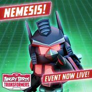 Плакат события Немезис