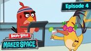 Angry Birds MakerSpace Step Tracker Challenge! - S1 Ep4