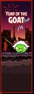 Year of the Goat Angry Birds versión internacional