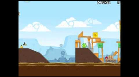 Angry Birds Chrome Dimension 1 (4-1) 3 Star Walkthrough
