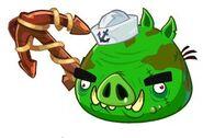 Angry Birds Epic Cerdo Pirata