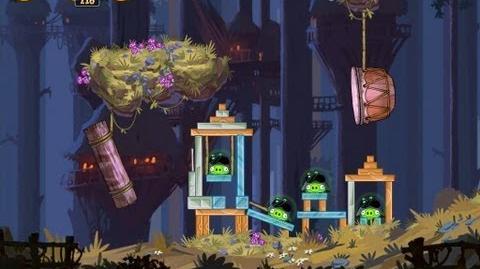 Moon of Endor 5-17 (Angry Birds Star Wars)/Video Walkthrough