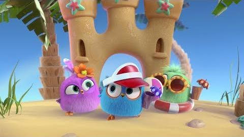Explore the amazing worlds of Angry Birds Match