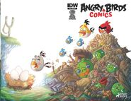 Angry birds comics - 10 sub ver cover