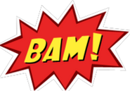 BAM! Sticker