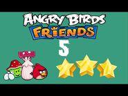 -5- Angry Birds Friends - Pig Tales - 1 bird - 3 stars