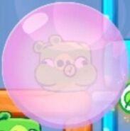 Cerdo burbuja de Chicle