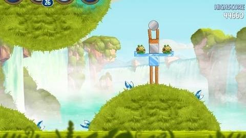 Naboo Invasion B1-14 (Angry Birds Star Wars II)/Video Walkthrough