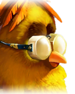 Flocker Yellow Portrait 008