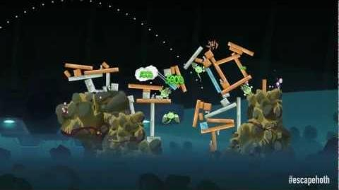 Angry Birds Star Wars Escape from Hoth gameplay - out now!