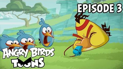 Angry Birds Toons Full Metal Chuck - S1 Ep3
