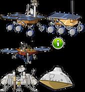 Mars Drones