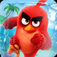 Earth Angry birds China Logo