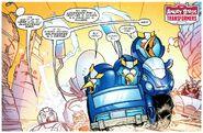 Блустрик в комиксе
