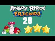 -28- Angry Birds Friends - Pig Tales - 2 bird - 3 stars