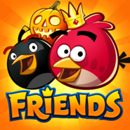 Angry Birds Friends Halloween Icon