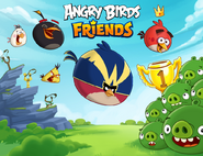 Angry Birds Friends Toons Loading Screen