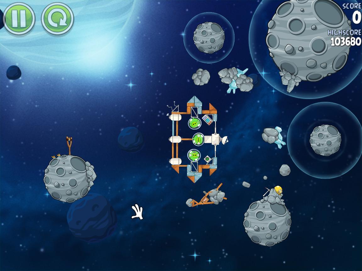 Beak Impact 8-7 (Angry Birds Space)