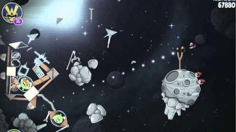 Beak Impact 8-6 (Angry Birds Space)/Mirror Worlds Version